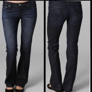 AG| The Angelina Petite Boot Cut Jeans